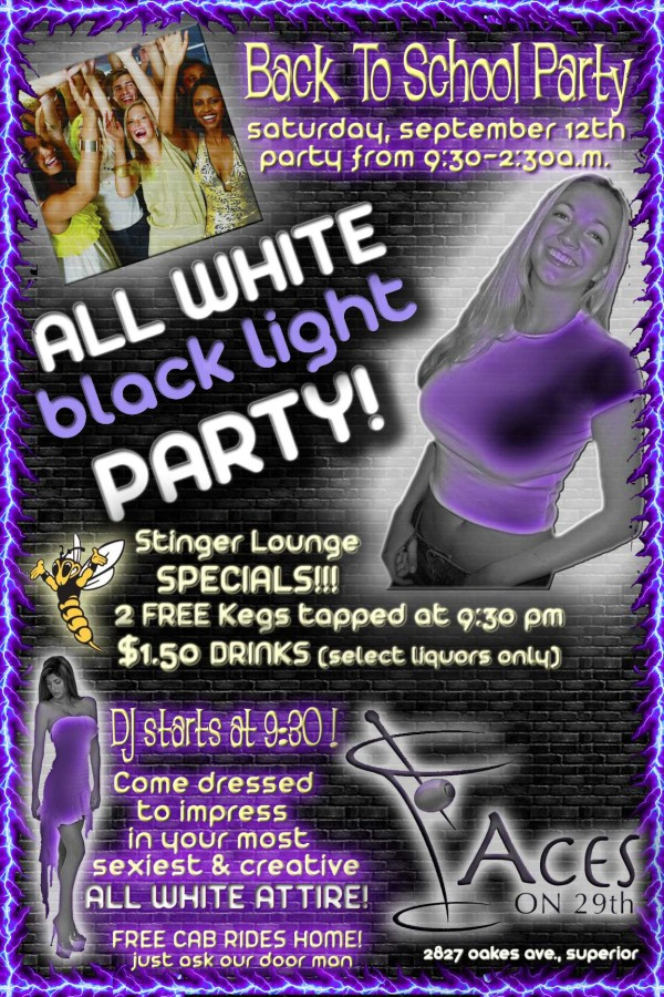 White-&-Black-Party-Poster